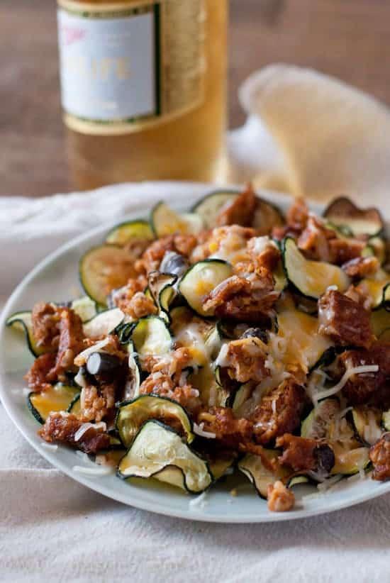 Zucchini Nachos