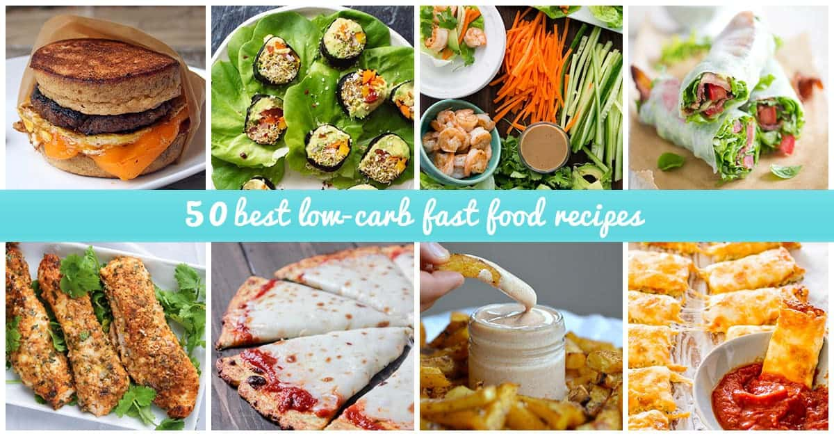 Low-Carb fast food ideas