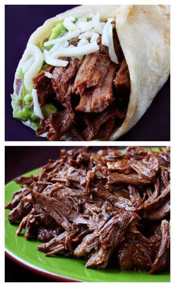 Slow-Cooker Shredded Beef Tacos