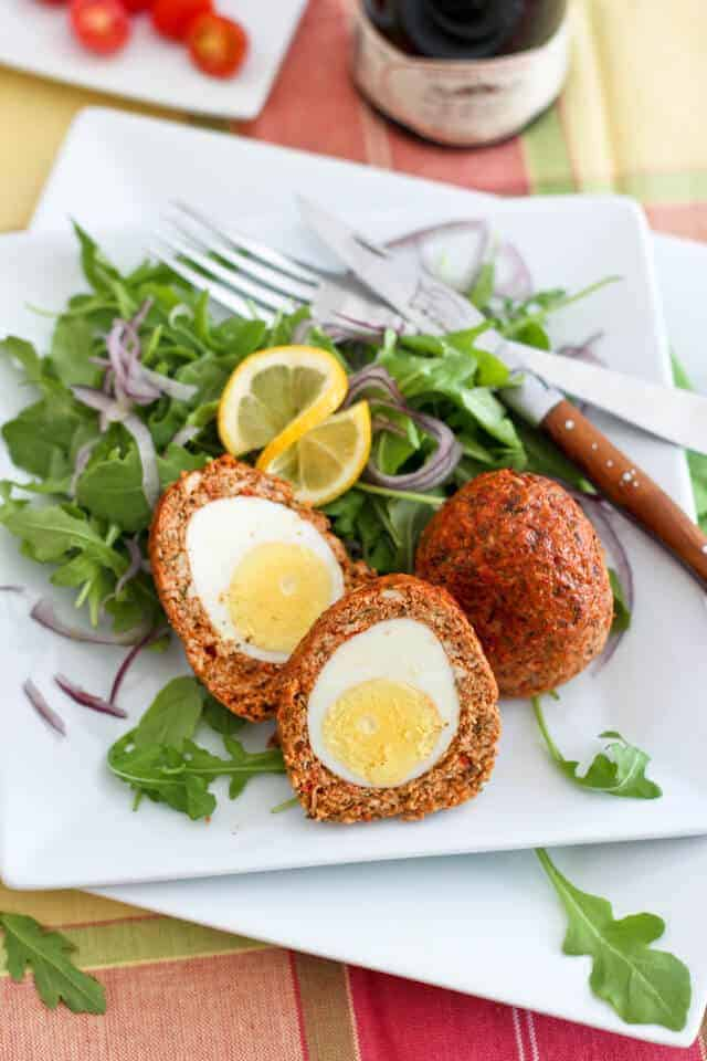 Paleo Chicken Scotch Eggs
