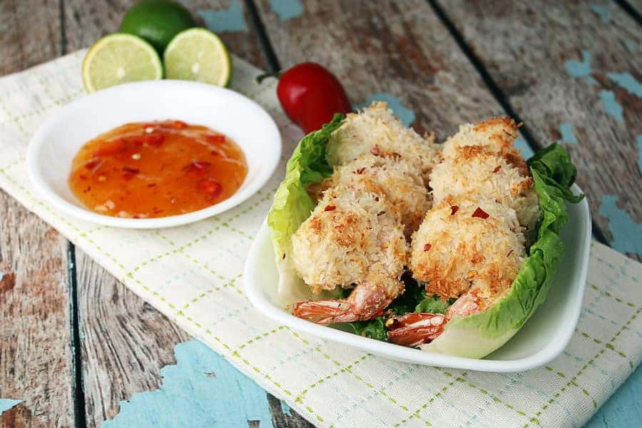 Low-Carb Coconut Shrimp