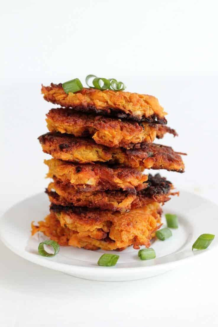 Paleo Sweet Potate Hash Browns