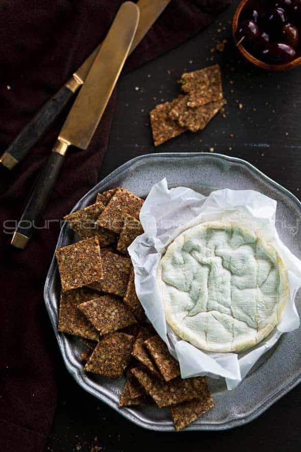 Homemade Flax and Hemp Seed Crackers