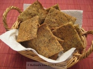 Almond-Flax Crackers