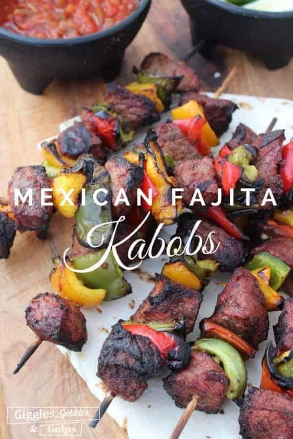 Mexican Fajita Kabobs