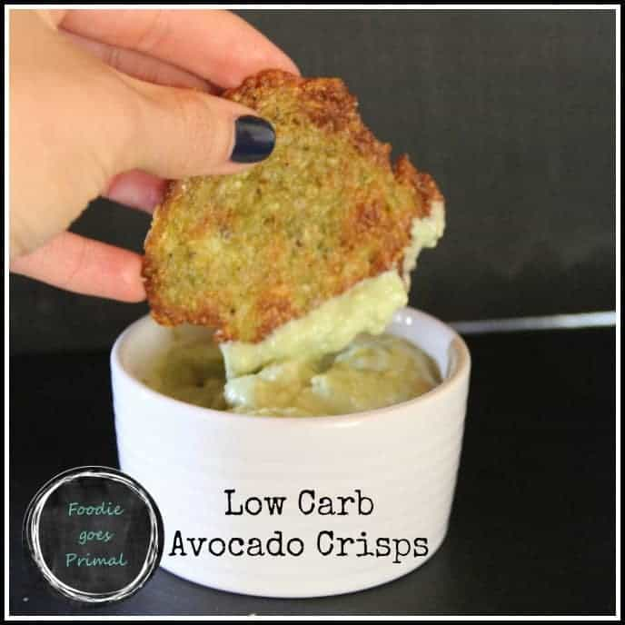 Low-Carb Avocado Crisps