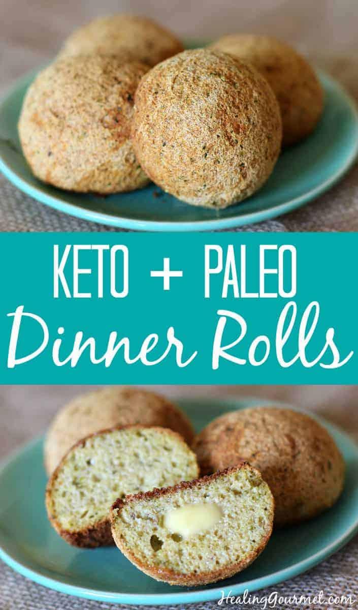 Keto Paleo Dinner Rolls