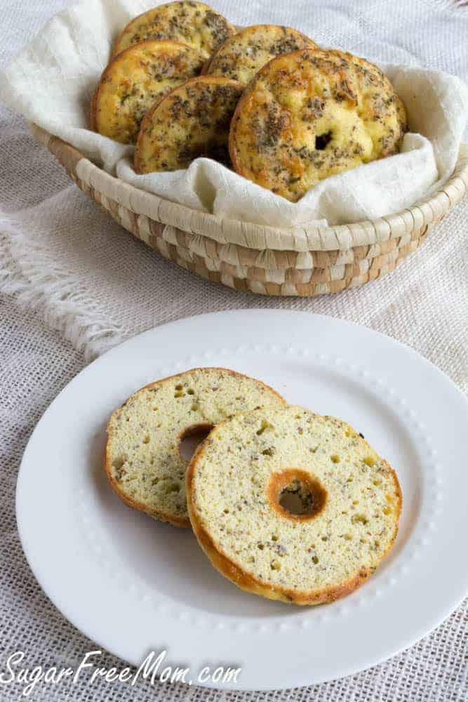 Sugar-Free Low-Carb Everything Bagel