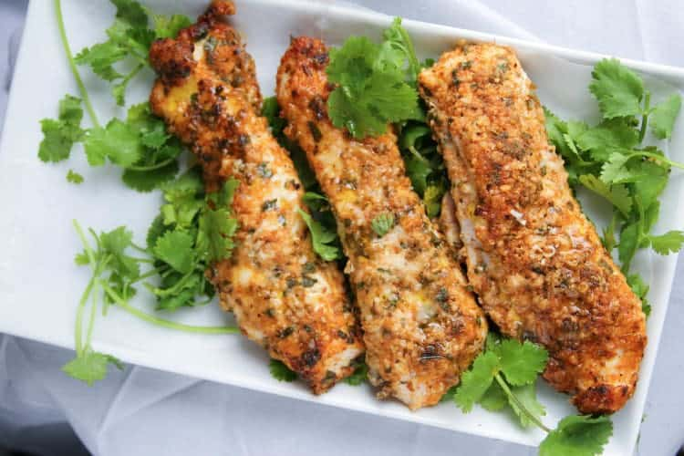 Low-Carb Baked Chicken Tenders