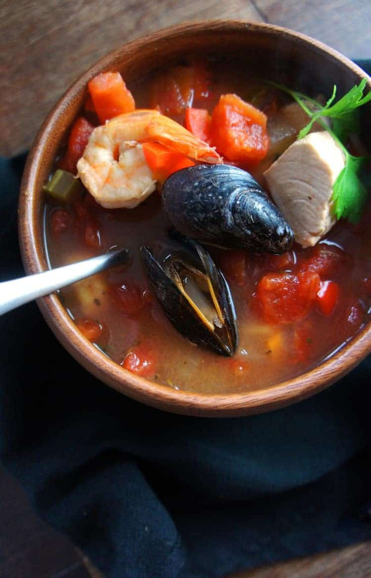 Hearty Chunky Cioppino