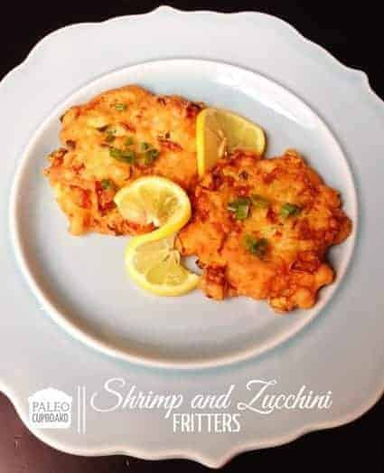 Paleo Shrimp And Zucchini Fritters