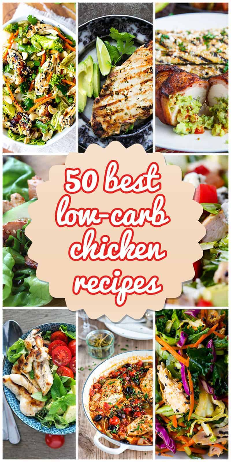 Low carb chicken sauce recipes