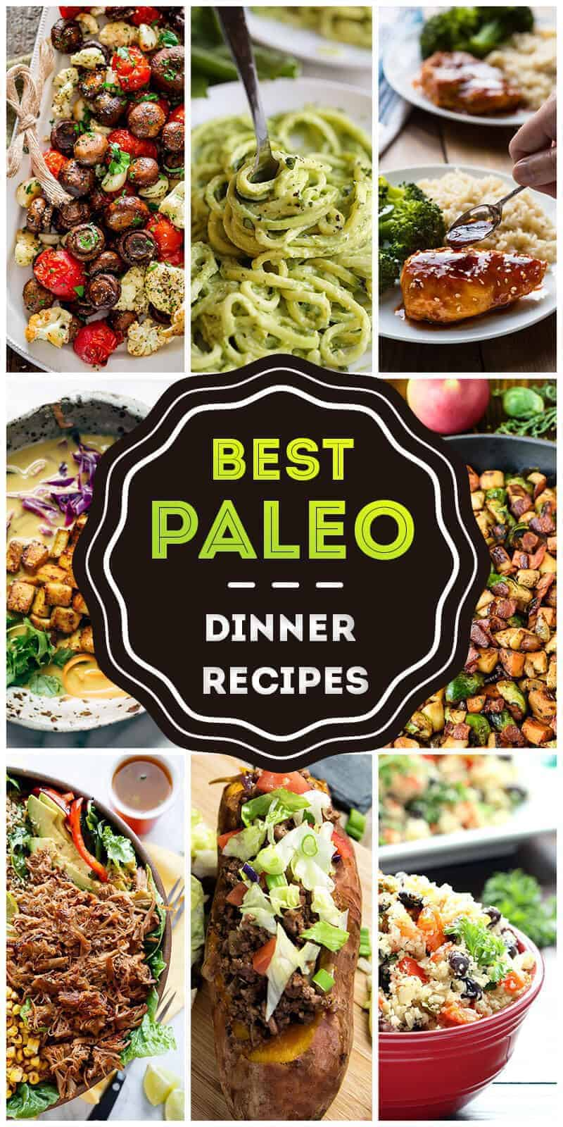 Paleo Dinner Recipe Ideas