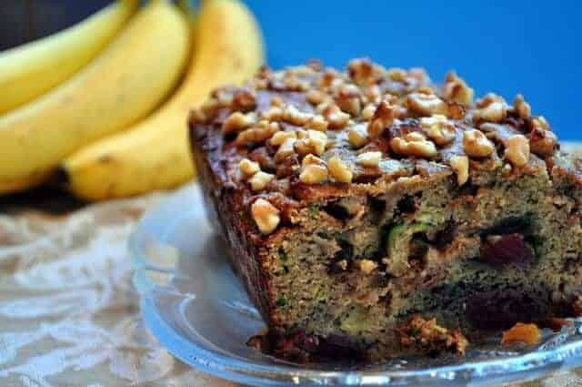 Cherry-Zucchini Banana Bread