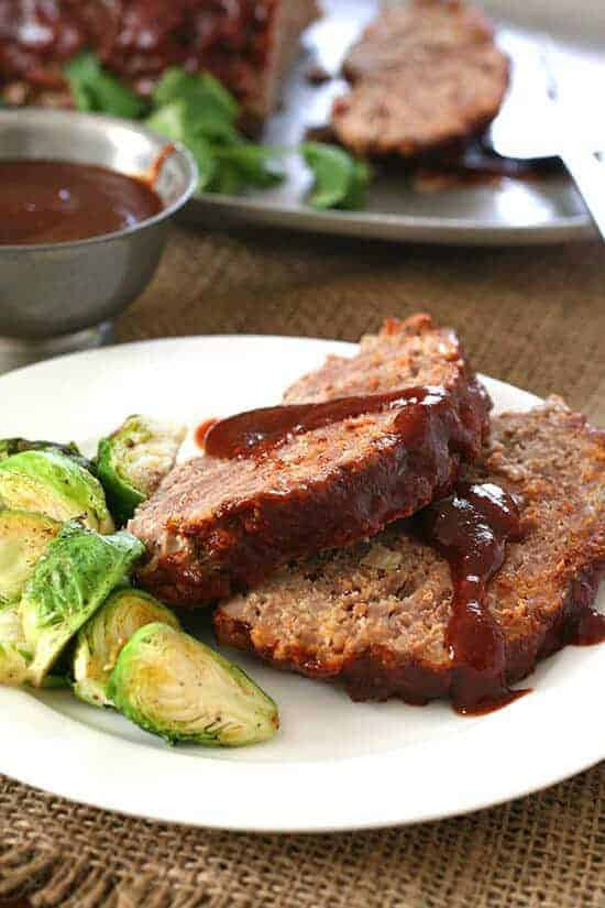 Slow Cooker Barbecue Meatloaf