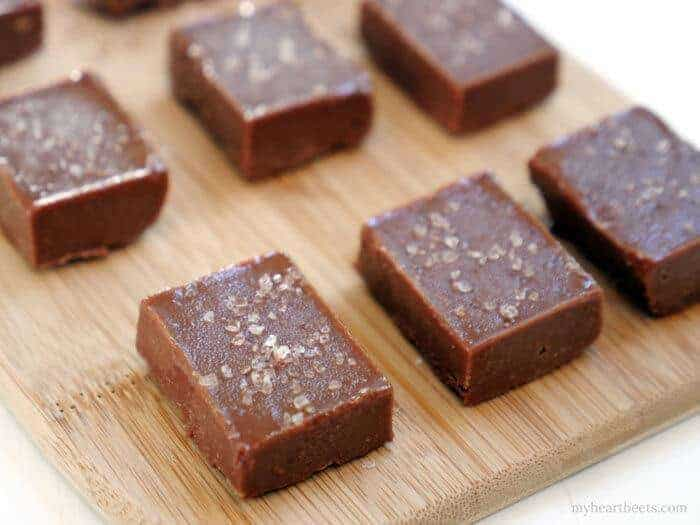 Salted Tahini Fudge
