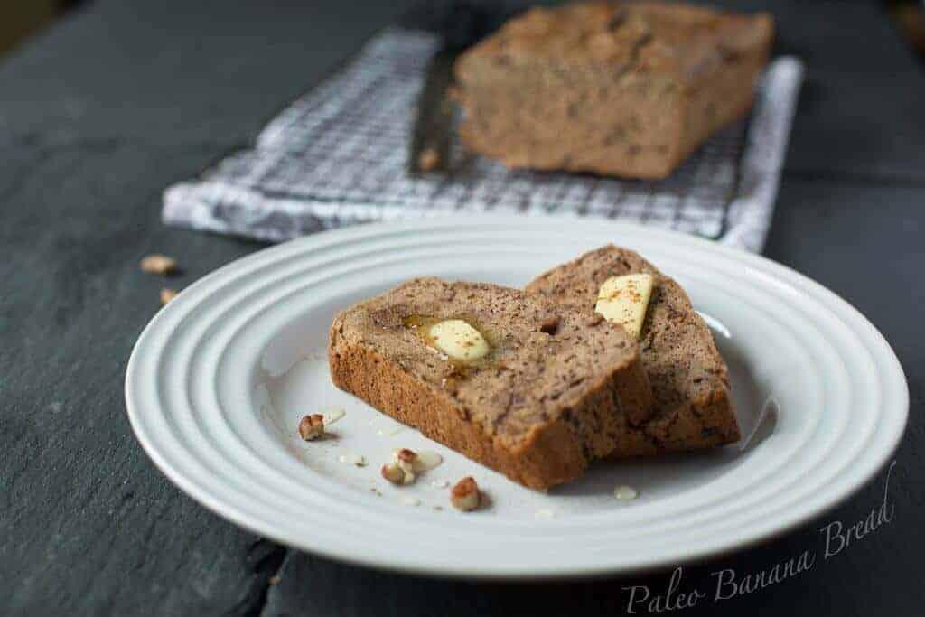 Paleo Dessert Banana Bread