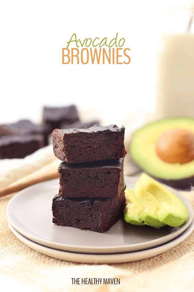 Healthy Avocado Brownies