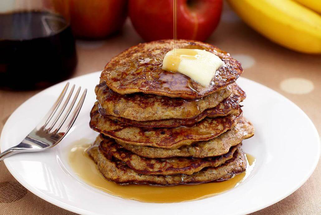 Paleo Apple Cinnamon Pancakes