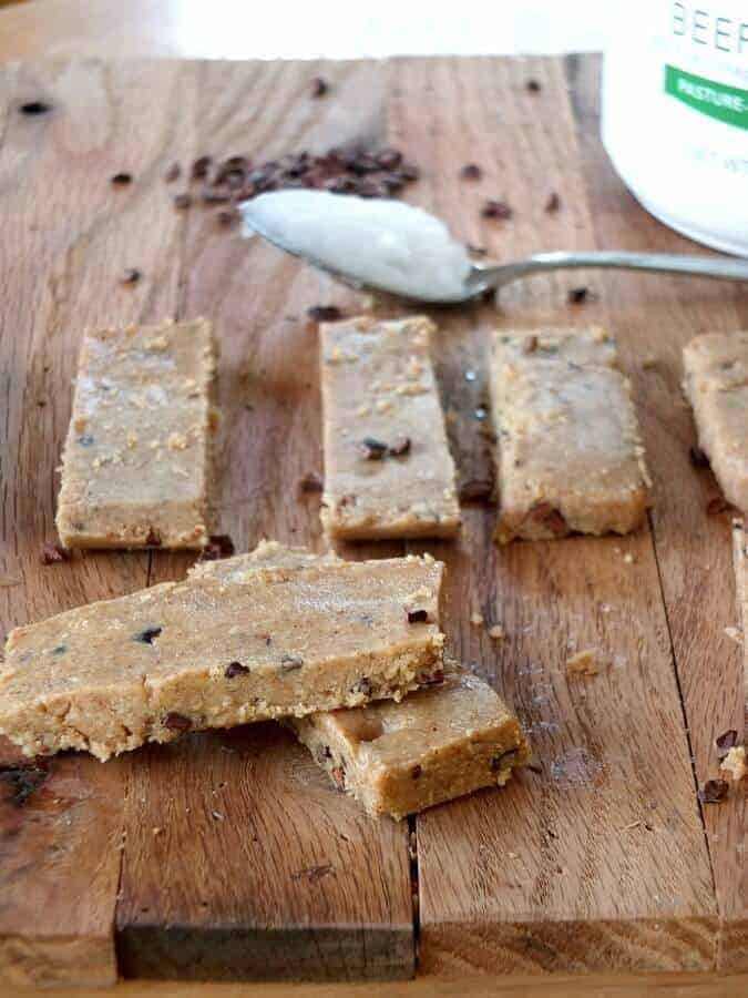 Paleo Cookie Dough Protein Bar