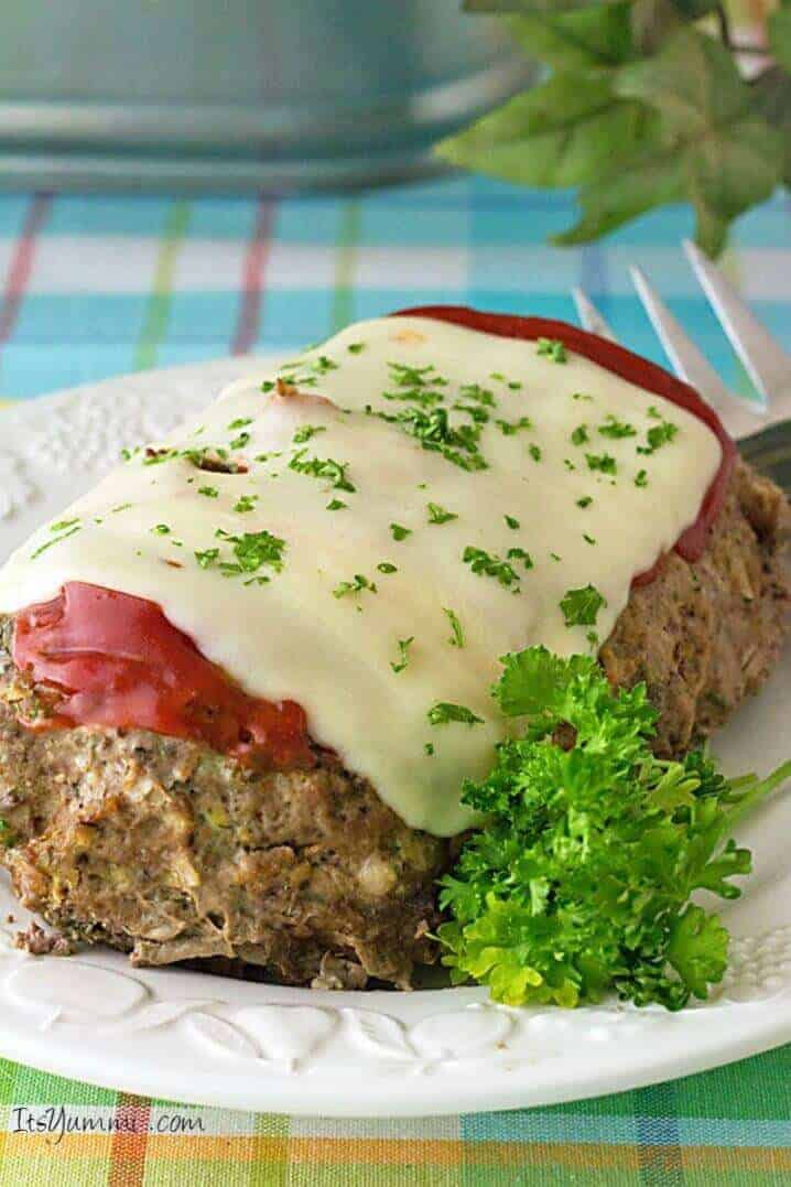 Slow Cooker Low Carb Meatloaf Recipe