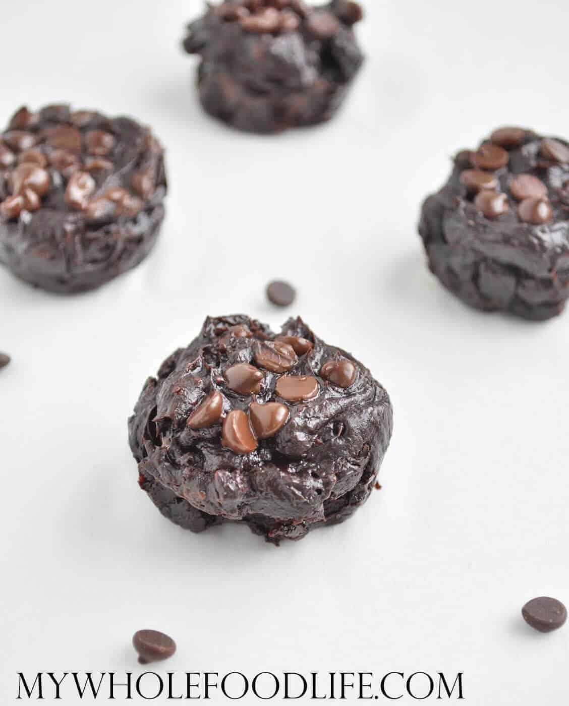 Flourless Chocolate Brownie Bites