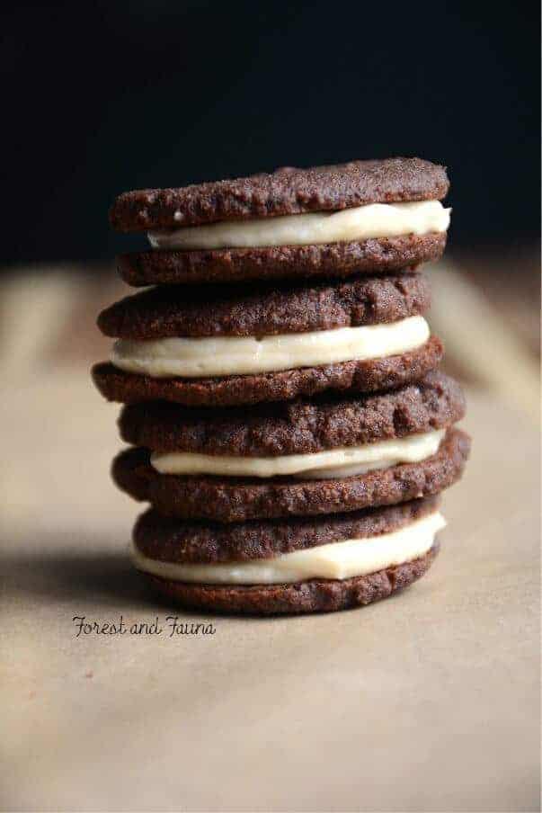 Paleo Oreo Cookie