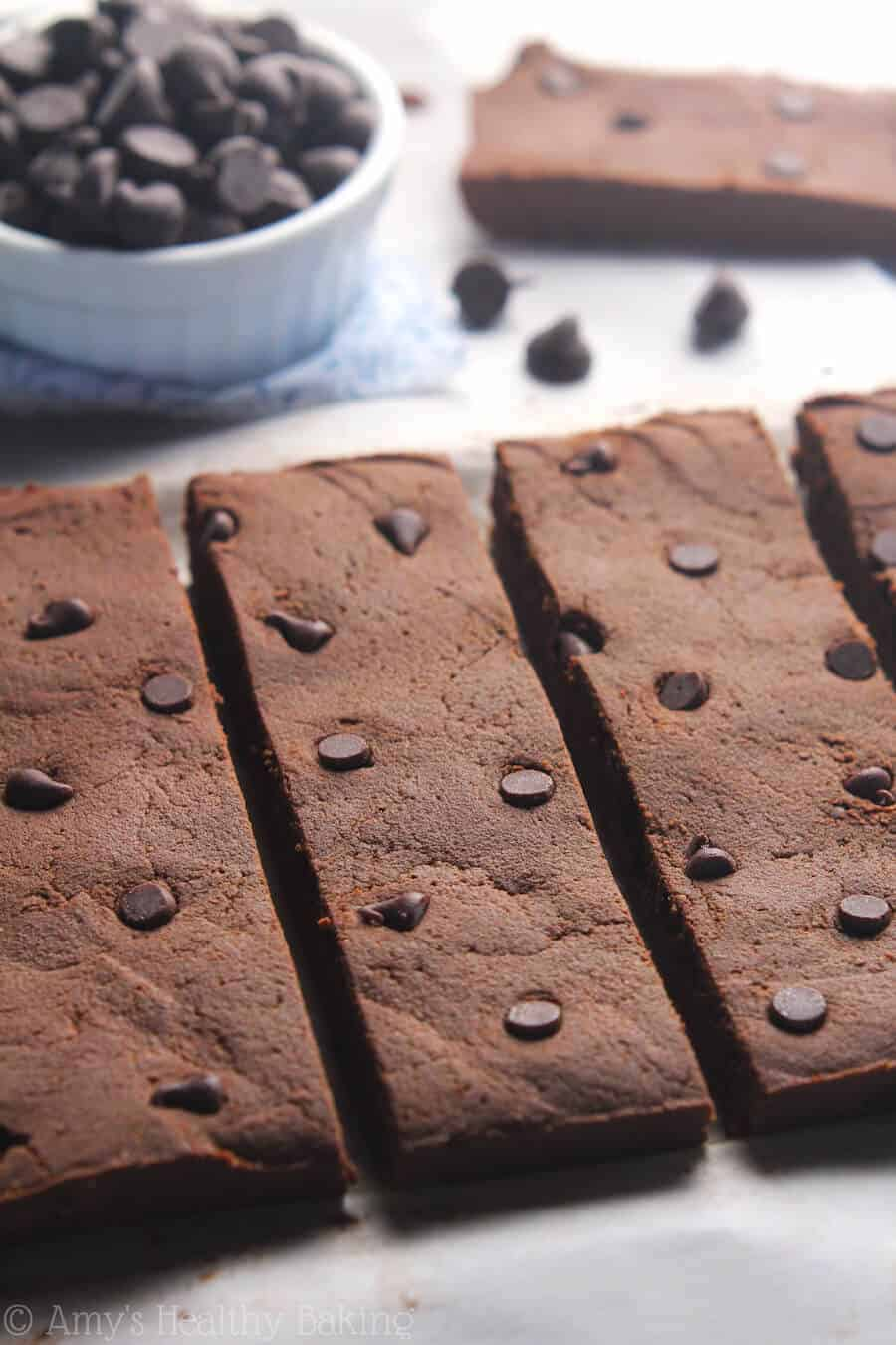 Fudgy Brownie Batter Protein Bars
