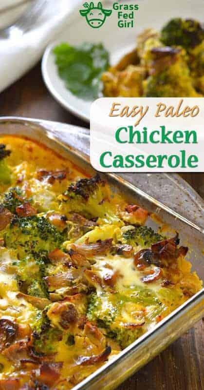 Easy Chicken Broccoli Casserole