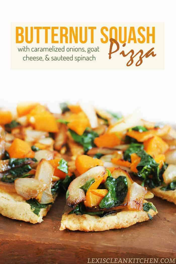 Butternut Squash Pizza and Creamy Butternut Squash Puree