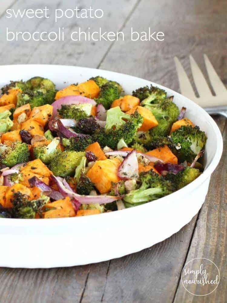 Sweet Potato Broccoli Chicken