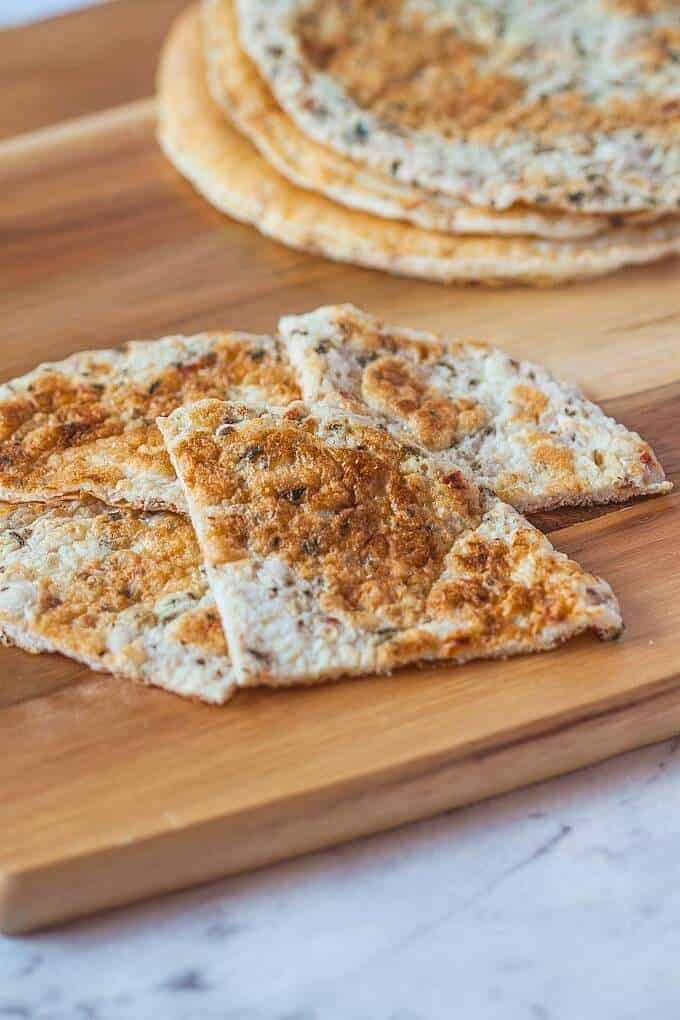 3 Ingredient Paleo Flatbread
