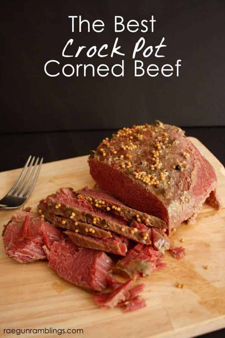 Paleo Best Crock Pot Corned Beef