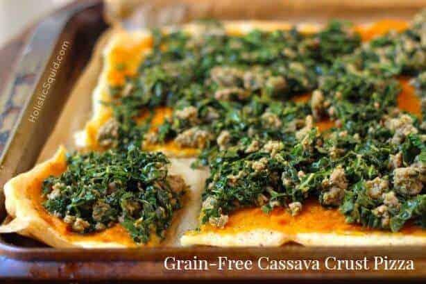 Gluten Free Cassava Pizza