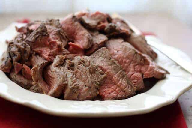 Paleo Perfectly Simple and Sliceable Crock Pot Roast Beef