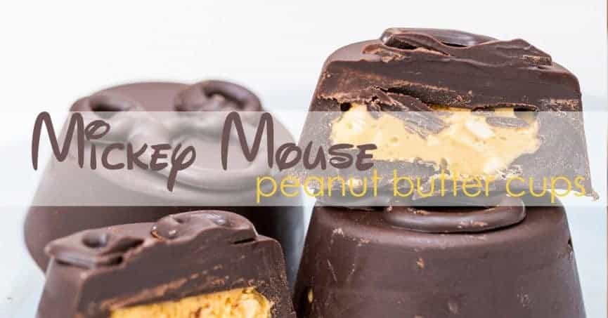 Low-Carb Mickey Peanut Butter Cups