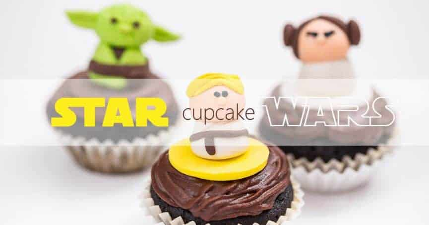 Low-Carb Star Wars Cupcake