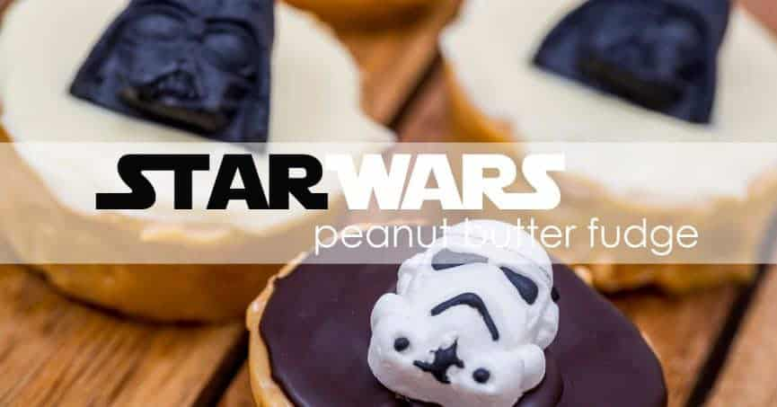 Low-Carb Star Wars Peanut Butter Fudge