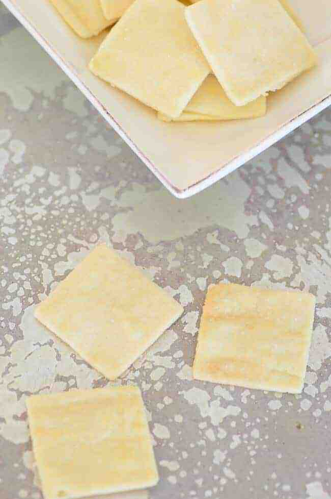 3 Ingredient Gluten Free & Crackers