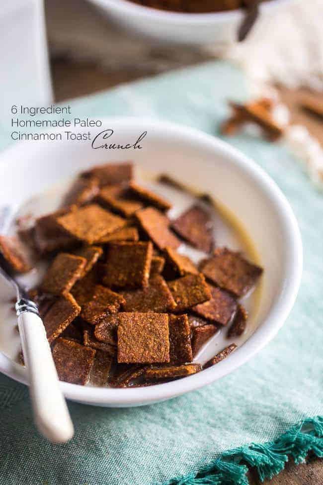 Paleo Cinnamon Toast Crunch