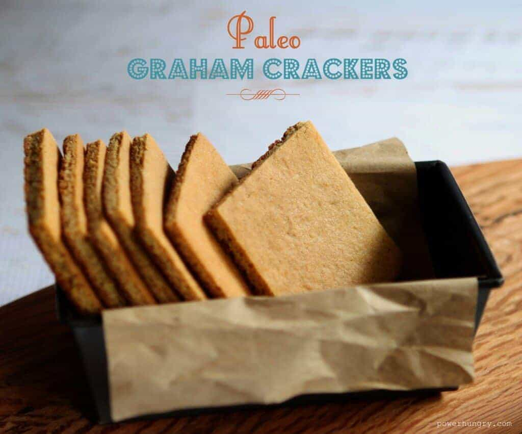 Easy Paleo Graham Crackers