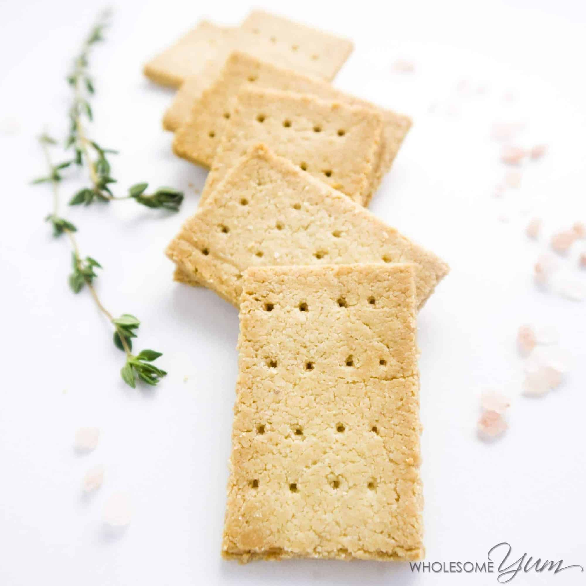 3-Ingredient Crackers