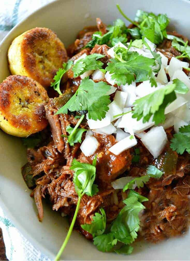 Crock Pot Cuban Beef