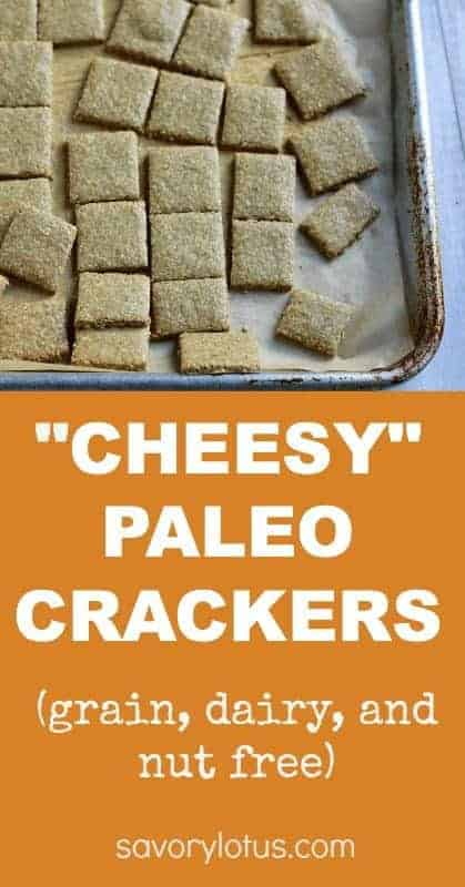 """Cheesy"" Crackers"