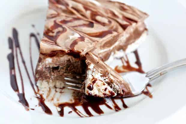 Creamy Chocolate Coconut Pie