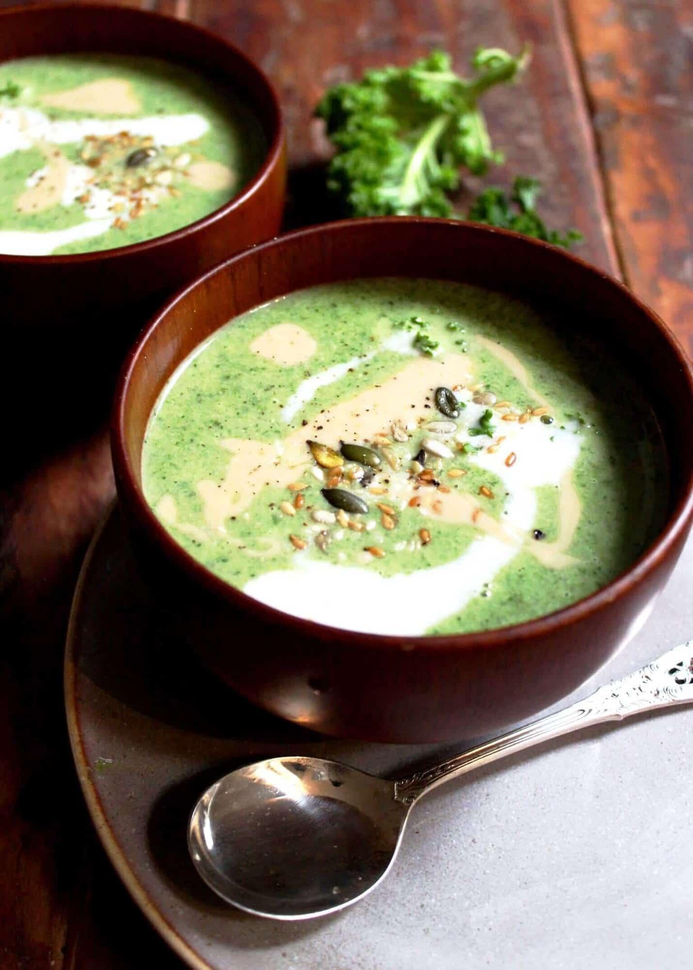 Little Green Goddess Soup