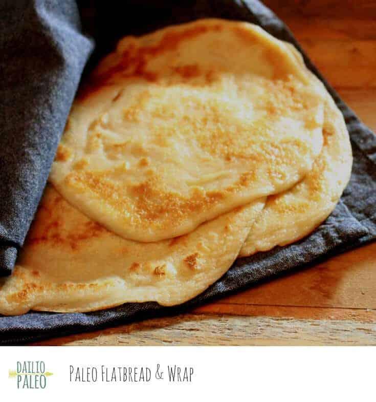 Paleo and Gluten Free Wraps
