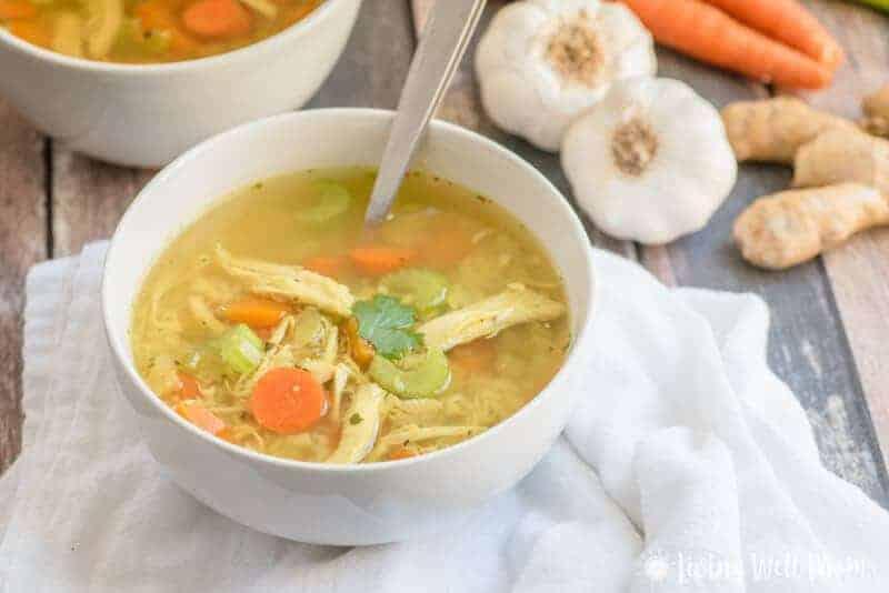 Healing Paleo Chicken Soup