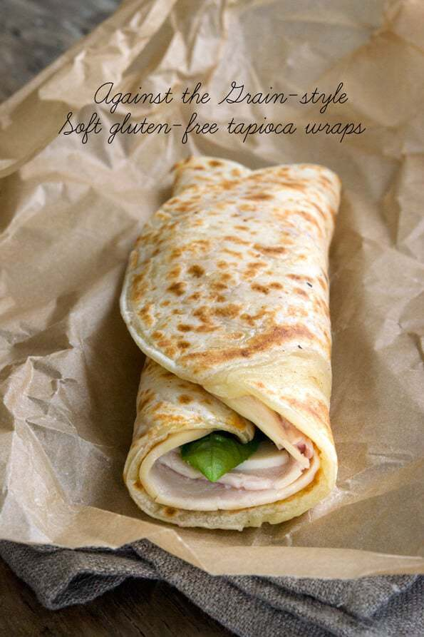Soft Gluten Free Tapioca Wraps