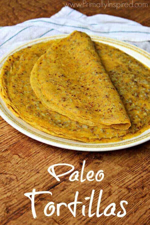 Paleo Tortillas Recipe
